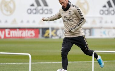 I parikuperueshmi Hazard mungon në stërvitje, në rrezik ndeshja me Atalantën