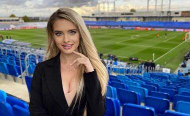 """E bukur dhe simpatike, njihuni me gazetaren seksi që magjepsi """"Olimpico-n"""" dhe po sfidon Diletta Leotta-n (FOTO LAJM)"""