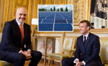 """Macron e """"mori për veshi"""" në Paris, Rama i jep kompanisë franceze Parkun Fotovoltaik"""