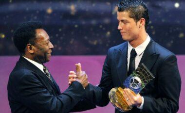 Pele e pranon se Ronaldo i ka thyer rekordin: Pendimi im i vetëm është që nuk munda të të përqafoj sot