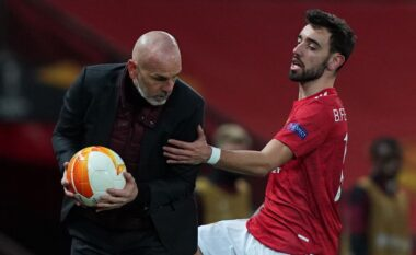 Pioli me dhimbje koke sot, Milani konfirmon mungesat e mëdha përballë Man United