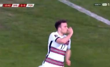 Portugalia zhbllokon rezultatin ndaj Serbisë (VIDEO)