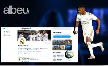 Hakohet faqja e Real Madridit në Twitter, Rodrygo shpallet i dëmtuar