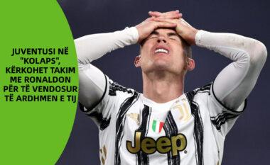 """Juventusi në """"kolaps"""", kërkohet takim me Ronaldon për të vendosur të ardhmen e tij"""