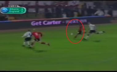 """Dy dekada më parë, Shqipëria kujton super golin e Rrakllit në """"Qemal Stafa"""" ndaj Anglisë (VIDEO)"""