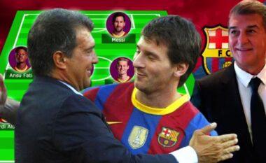 Messi qëndron dhe 4 transferime, ky është formacioni i mundshëm i Barcës për sezonin e ri (FOTO LAJM)