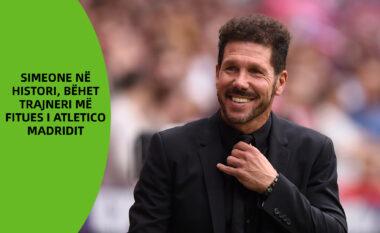 Simeone në histori, bëhet trajneri më fitues i Atletico Madridit