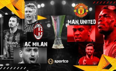 Formacionet zyrtare, Milan-Man United