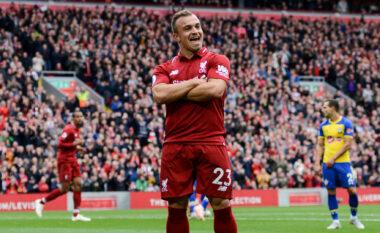 Shaqiri dhe tre yje të tjerë nxirren në shitje nga Liverpool