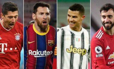 Lista me lojtarët që kanë kontribuar me më shumë gola dhe asistime (FOTO LAJM)
