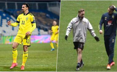 Dëmtohet Ibrahimovic, mungon në ndeshjen me Estoninë