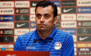 """""""Do vuajm"""", trajneri i Andorrës flet në prag ndeshjen me Shqipërinë"""