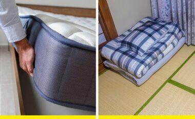 Pse njerëzit në Japoni flenë në dysheme dhe 5 arsye për ta provuar