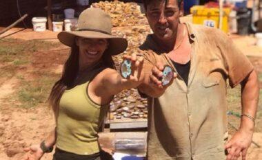 Motër e vëlla gjejnë gurë të çmuar në vlerë milionëshe (FOTO LAJM)