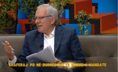 Xhaferraj i bindur: PD merr minimumi 8 mandate në Durrës, Rama është makthi i socialistëve