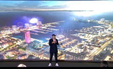 Rama nuk i ndahet projekteve 3D, nxjerr videon e portit të ri në Durrës