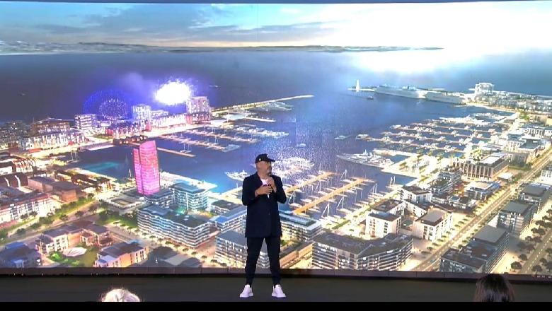 Rama nuk i ndahet videove 3D, nxjerr videon e projektit të portit të ri në Durrës