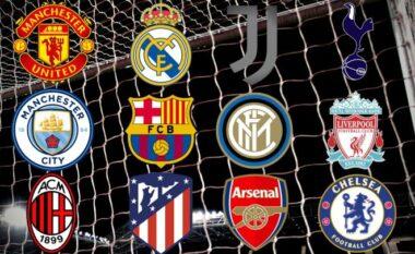 Ende pa nisur bie Superliga Europiane, ja 6 klubet që tërhiqen
