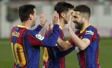 """Barcelona """"shuplakë"""" Getafes, Messi me dopietë mban gjallë shpresat për titull (VIDEO)"""