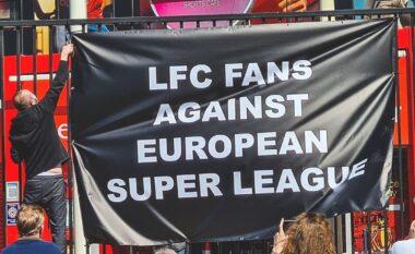 """Superliga Europiane, tifozët """"braktisin"""" Liverpool: E keni mendjen vetëm te paratë, nuk ju mbështesim më (FOTO LAJM)"""