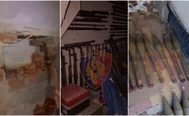 Dalin pamje të reja, momenti kur policia çan murin dhe nxjerr arsenalin e Sokol Xhuros (VIDEO)