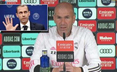 Zidane i përgjigjet presidentit të UEFA-s