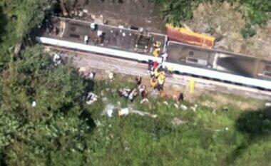 Tragjike: Treni del nga shinat, vdesin 36 persona e plagosen dhjetëra të tjerë (FOTO LAJM)