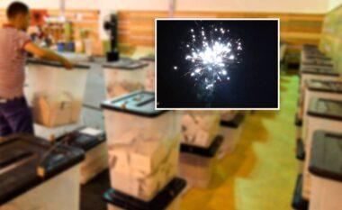 Socialistët ndezin para kohe qiellin me fishekzjarre në Bulqizë