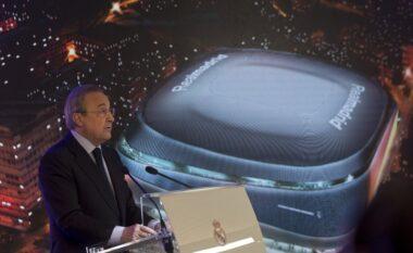 """""""Bernabeu"""" modern dhe 2 super yje, Florentino Perez president deri në vitin 2025"""