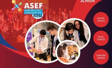 """Nxënësit nga ShPM """"Jahja Kemal"""" edhe njëherë e prezentuar vendin tonë në shkencë në ASEF"""