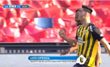 I servir golin e sigurt shokut të skuadrës, Broja merr rolin e protagonistit në finalen me Ajax (VIDEO)