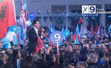 Basha mbyll fushatën elektorale në Tiranë (VIDEO)