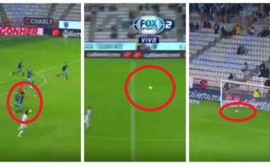 I rrallë, shijojeni këtë gol nga 80 metra distancë në minutën e 96′ (VIDEO)