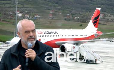 Me këngë e valle, zbret avioni i parë në Aeroportin Ndërkombëtar të Kukësit (VIDEO)
