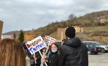 """Ndërtimit i HEC-it në Thirrë, banorët sërish në protestë: Kërcënojnë bllokimin e """"Rrugës së Kombit"""""""