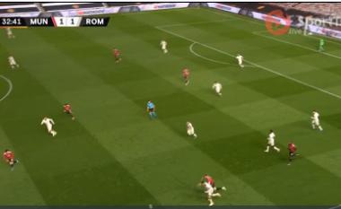 Roma përmbys Man United, e mbyll në avantazh pjesën e parë (VIDEO)
