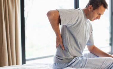 Çfarë duhet të bëni nëse zgjoheni me dhimbje shpine