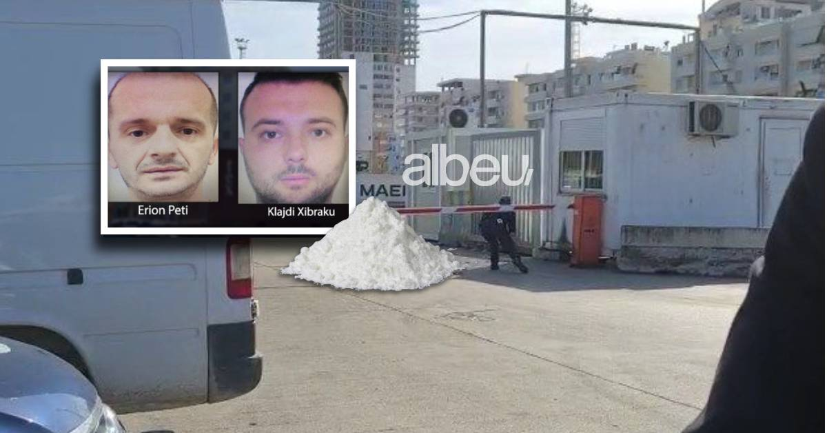 143 kilogramë kokainë, burg për administratorët Peti dhe Xibraku