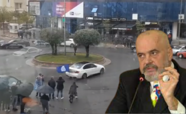 """""""Votoje rrotullimin rreth vetes"""", Rama poston videon e demokratit të flaktë që bënte drift në Lezhë (VIDEO)"""