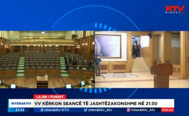 Deputetët mblidhen për seancën e jashtëzakonshme (VIDEO)