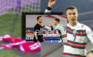 Goli i anulluar i Ronaldos ndaj Serbisë, dënohet gjyqtari holandez