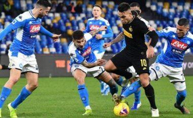 Napoli-Inter, formacionet zyrtare