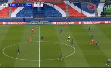 2 minuta nga fundi i pjesës së parë, Bayern ndëshkon PSG (VIDEO)