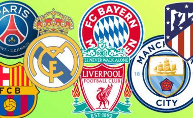 Publikohet renditja e klubeve nga UEFA, nuk kryeson as Reali as Barça (FOTO LAJM)