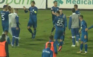 Teuta mban kreun, Laçi bën detyrën (VIDEO)