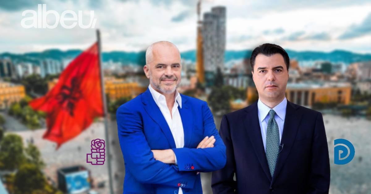 """SONDAZHI/ Lufta në Tiranë, PS apo PD e merr """"pjesën e luanit""""?"""
