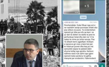 Xhaferaj nxjerr SMS-në: Drejtori i arrestuar në Durrës, shantazh vartësve për votat