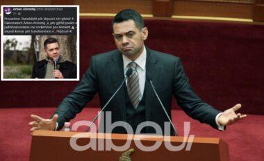 Ministri falenderon veten në rrjetet sociale: Faleminderit Arben (VIDEO)