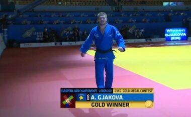 Asnjë pikë të dobët, Akil Gjakova fiton medaljen e artë në Kampionatin Evropian