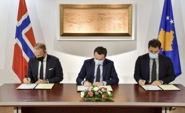 Kurti dhe ambasadori i Norvegjisë nënshkruajnë memorandum mirëkuptimi